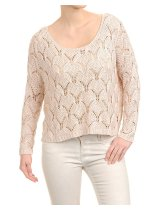 CHRISTA PROBST 37309/0 LADIES PULLOVER SMOKEY ROS SLEVA