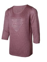 CHRISTA PROBST 74128/0 Ladies Pullover basalt