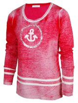 CHRISTA PROBST 74511/0 Ladies Pullover red